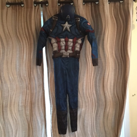 MARVEL Captain America muscle costume
